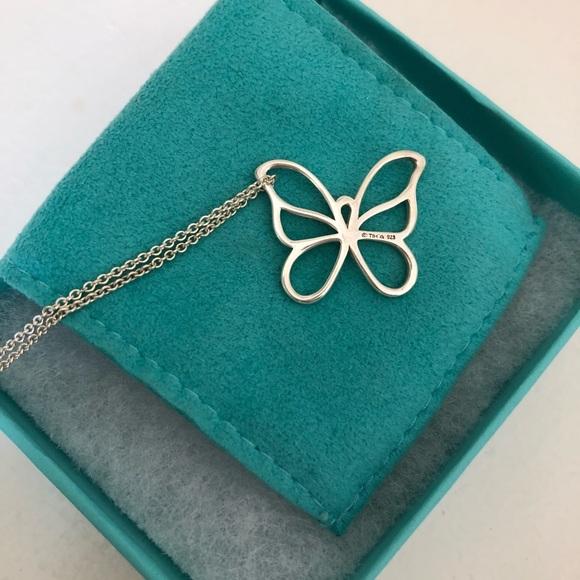 ca848df03 Tiffany & Co. Jewelry   Tiffany Co Sterling Silver Butterfly ...